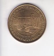 Jeton Médaille Monnaie De Paris MDp Saint Maximin Basilique Sainte Marie Madeleine - Monnaie De Paris