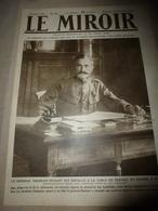 1918 LE MIROIR: Liège (Belgique);Les Belges à Aix-la-Chapelle;Terreur à Bruxelles;Hyravions Anglais De Combat;etc - Magazines & Papers