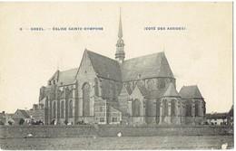 8 - GHEEL - Eglise Sainte - Dymphne - Coté Des Absides - Phot Bertels - Geel