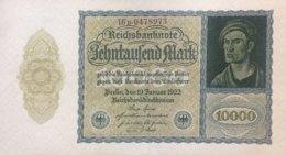 Germany 10.000 Mark, DEU-78d/Ro.69d (1922) - UNC - [ 3] 1918-1933 : República De Weimar