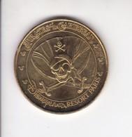 Jeton Médaille Monnaie De Paris MDp Pirates Des Caraibes Disneyland Paris Caribbean - Monnaie De Paris