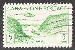 United States - Casnal Zone - Scott #C7 Used - Canal Zone