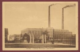 """Schelle - Belgique : La Centrale Electrique """" Inter - Escaut """" / Thème Usine Electricité Energie - Schelle"""