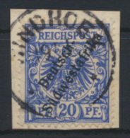 Kolonien Deutsch-Südwestafrika DSWA 8 Luxus Briefstück WINDHOEK Kat.-Wert 18,-++ - Colony: German South West Africa