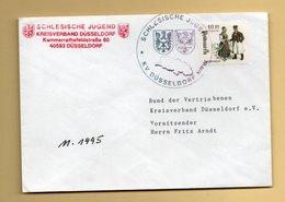 """BRD - Spendenmarke - """"Pommern"""" - Mönchsgut - Tracht - Deutschland"""