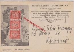 ** FORO D' ISCHIA.-RISTORANTE TORRIONE.-** - Napoli