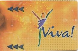 Carte De Membre : Viva Casino : Chypre Du Nord (Mal-Coupée) - Cartes De Casino