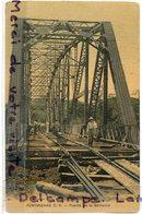 - Costa Rica - Puntarenas - Puente De La Barranca, Pont Métallique, Voie Ferrée, Railway,  Ancienne, TBE, Scans.. - Costa Rica