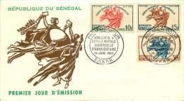SENEGAL  1963  Admission à L'UPU  FDC Non Adressé - Senegal (1960-...)