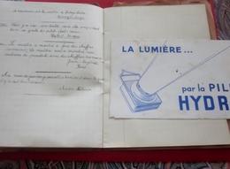 """1937 CAHIER ÉCOLE""""JOURNAL DE CLASSE+PROTÈGE CAHIER+BUVARD ECRIT PORTE PLUME ENCRE PAR TOUS LES ÉLÈVES  ILLUSTRÉ DESSINS - Autres Collections"""