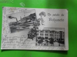 Cpa Saluto Da Bolzaneto Genova  1917 - Genova (Genua)