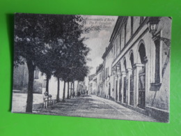 Cpa Fiorenzuola D'arda Via Cavollotti  Teatro Verdi 1917 Piacenza - Piacenza