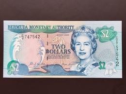 BERMUDA P50A 2 DOLLARS 24.05.2000 UNC - Bermudes