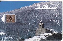 "ANDORRA - Chapelle Saint Christophe D""Anyos, Tirage 20000, 04/93, Used - Andorra"