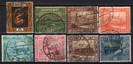 SARRE - 1922 - VEDUTE DELLA SARRE - USATI - 1920-35 Società Delle Nazioni