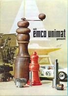 The `Emco Unimat`. - Publicidad