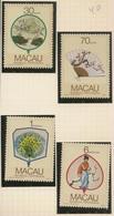 Macau Portugal China Chine 1987 - Leques Da Região - Fans - Set Complete - Mint MNH / Neuf - Macau