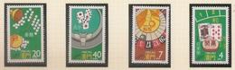 Macau Portugal China Chine 1987 - Jogos De Casino - Casino Games - Set Complete - MNH / Neuf - Macau
