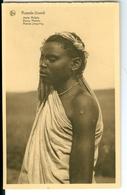 CP Ruanda-Urundi Jeune Muhutu Cliché Germain Van Den Eeckhaut Nels Années 1920 Ss. Détachée D'un Carnet - Ruanda-Urundi