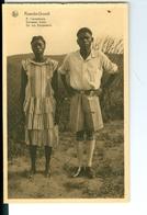 CP Ruanda-Urundi A L'Européenne Cliché Germain Van Den Eeckhaut Nels Années 1920 Ss. Détachée D'un Carnet - Ruanda-Urundi