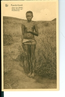 CP Ruanda-Urundi Jeune Fille Mututsi Cliché Germain Van Den Eeckhaut Nels Années 1920 Ss. Détachée D'un Carnet - Ruanda-Urundi