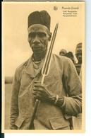 CP Ruanda-Urundi Chef Munyambo Cliché Germain Van Den Eeckhaut Nels Années 1920 Ss. Détachée D'un Carnet - Ruanda-Urundi