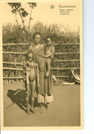 CP Ruanda-Urundi Amour Maternel Cliché Germain Van Den Eeckhaut Nels Années 1920 Ss. Détachée D'un Carnet - Ruanda-Urundi