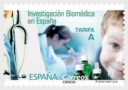 Spain 2018 - Science - Biomedical Research In Spain - 2011-... Nuovi & Linguelle