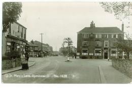 UPMINSTER UK - Essex - St. Mary's Lane - RPPC - 1956 - Zonder Classificatie