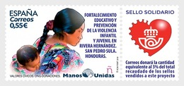 Spain 2018 - NGO, Donations, (Manos Unidas) Mnh - 2011-... Unused Stamps