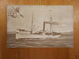 8072) Portugal Empresa Nacional Navegação Vapor AMBACA Paquebot Liner Steamer Cruiser Paquete - Paquebots