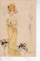29829 ILLUSTRATORE ILLUSTRATOR 1903 RAPHAEL KIRCHNER WIEN ÖSTERREICH – DONNINA DONNA RAGAZZA GIRL WOMAN - Illustratori & Fotografie