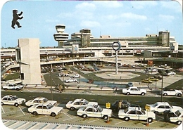 Berlin - Zentral Flughafen Tegel / Innenhof (381) - Tegel