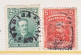 Bolivia  71-72  (o)  1901  Issue - Bolivia