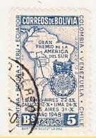 Bolivia  330  (o)  AUTO  CLUB   MAP - Bolivie