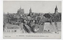 AMIENS - N° 3 - VUE GENERALE PRISE DU CHATEAU D' EAU - PLI ANGLE HAUT A DROITE - CPA VOYAGEE - Amiens