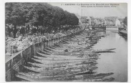 AMIENS - N° 1 - LA SOMME ET LE MARCHE AUX LEGUMES - CPA NON VOYAGEE - Amiens