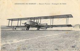 Aérodrome Du Bourget Goliath-Farman 1930 - Compagnie Air-union - Carte E.L.D. - 1919-1938