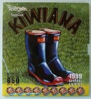NEW ZEALAND - GPT Set Of 5 - 1999 Kiwana - 650ex - NZ-CP-69 - MINT With Certificate - NZ Collector Pack - New Zealand