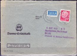 BRD FGR RFA - Brief Heuss (MiNr. 185 ) 1954 - Brief - BRD