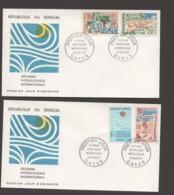 1967- Décennie Hydrologique- Hydrauliques Urbaine, Pastorale, Rurale - 2 FDC - Senegal (1960-...)