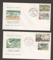 1965- Paysages Du Sénégal - 2 FDC - Senegal (1960-...)