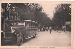 CHATELAILLON PLAGE-BOULEVARD DE LA REPUBLIQUE - Châtelaillon-Plage