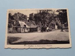 Le Boulevard Et L'Abattoir ( 3 - Albert / Parenté ) Anno 19?? ( Zie / Voir Photo ) ! - Bouillon