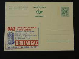 Publibel 2533 Chauffage Au Gaz Gas Entier Postal Stationery Card Belgique - Gaz