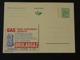 Publibel 2534 Chauffage Au Gaz Gas Entier Postal Stationery Card Belgique - Gaz
