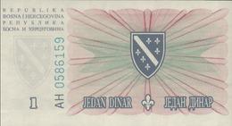BOSNIE HERZEGOVINE 1 Et 5 DINARDS Du15-8-1994  Pick 39a Et 40a  UNC/NEUF - Bosnie-Herzegovine