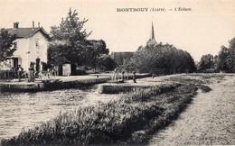 CPA  - 45 - MONTBOUY -  L'Ecluse  - Eclusiers - Editeur Dauvois - Autres Communes