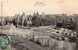 CPA - 56 - JOSSELIN - Le Canal - L'Ecluse - Vve Chamarre, Editeur - Josselin