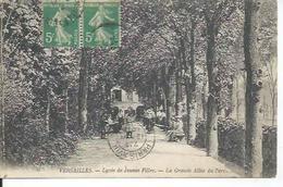 6 - VERSAILLES - LYCEE DE JEUNES FILLES - LA GRANDE ALLEE DU PARC  ( Animées ) - Versailles